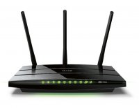 czarny router TP-Link